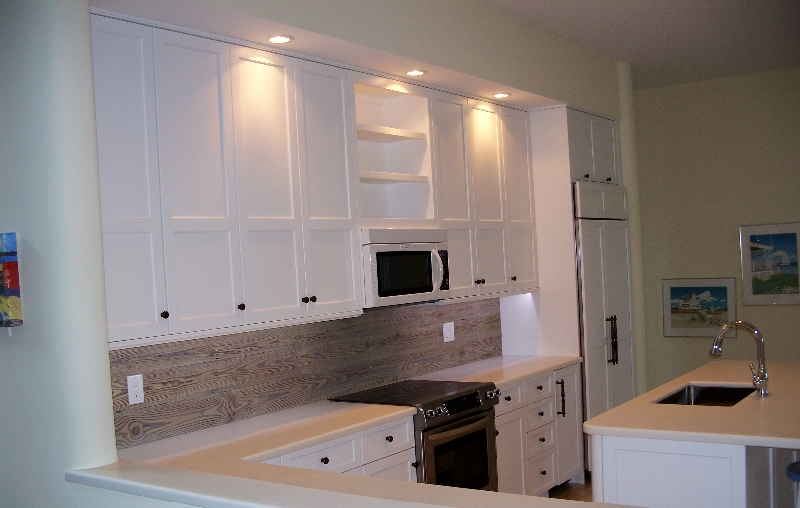 Custom White Kitchen Cabinets on the Eastern Shore