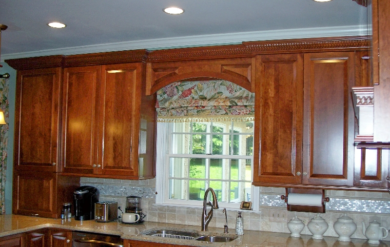 Custom Wood Kitchen Storage Cabinets