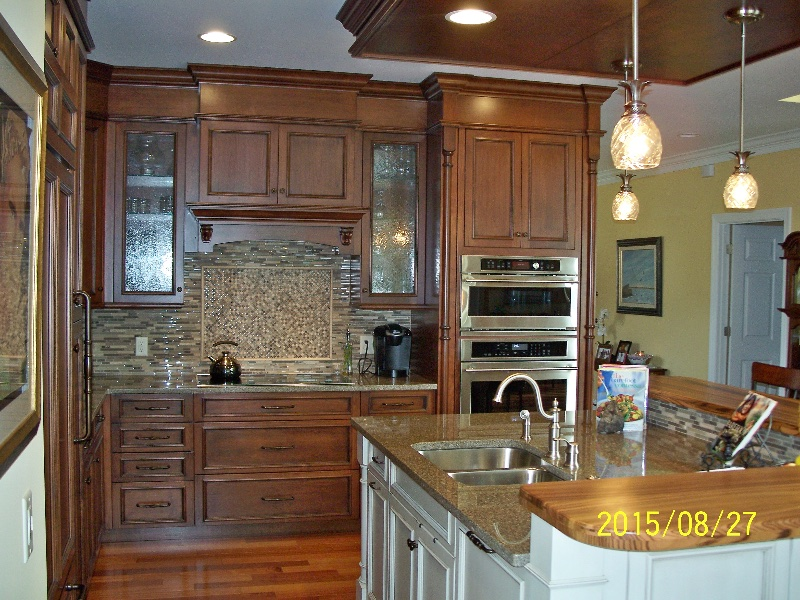 Custom Kitchen Cabinets and Ceiling in DE