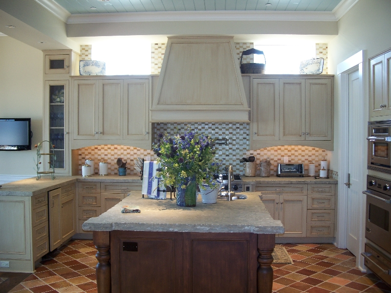 Custom Light Wood Kitchen