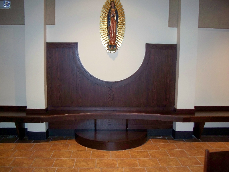 Custom Church Decorative Woodwork