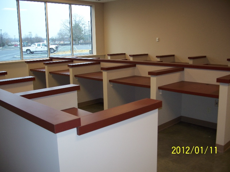 Custom Wood Cubicles