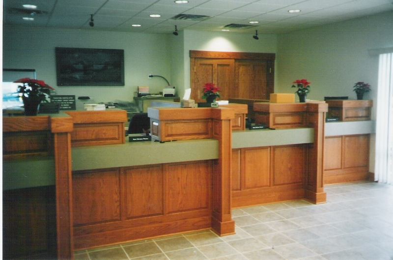 Custom Office Cabinetry in OCMD