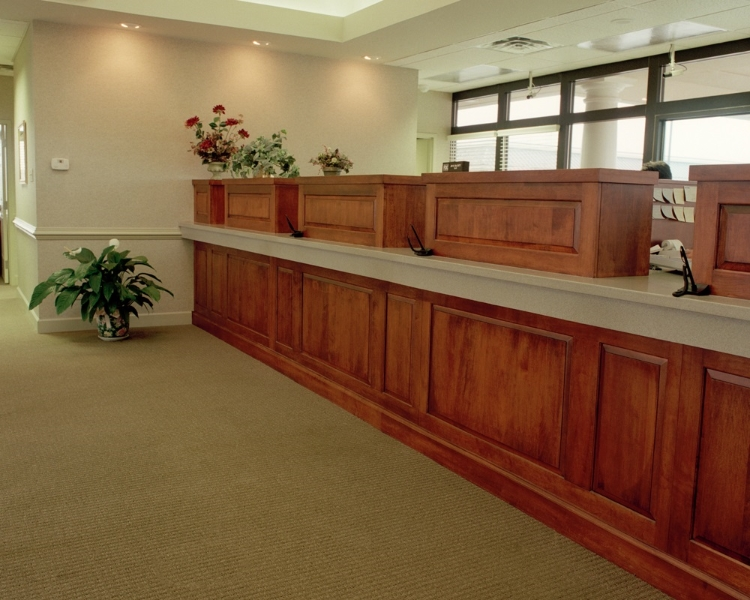 Custom Office Woodwork