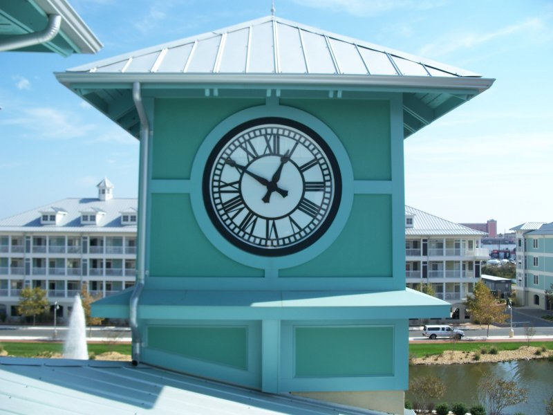Custom Ocean City, MD Clock