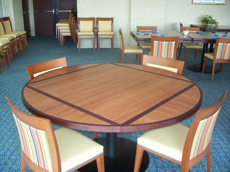 Custom Wood Restaurant Tables