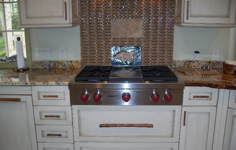 Custom Rustic Kitchen Cabinets