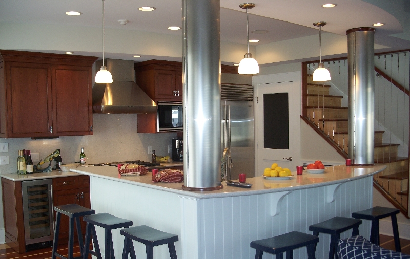 Custom Wood Kitchen in Different Colors