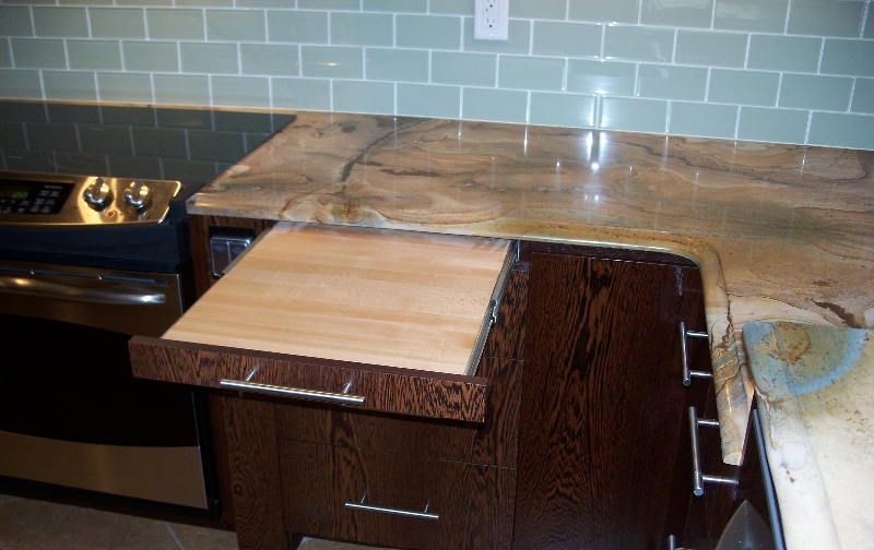 Custom Kitchen Storage on the Eastern Shore