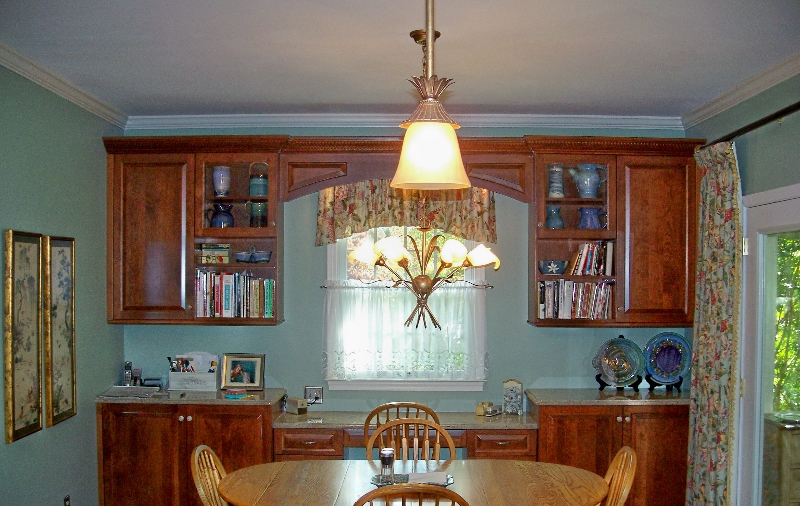 Custom Wood Kitchen Storage on the Eastern Shore