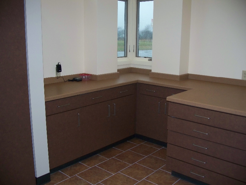 Custom Wood Commercial Cabinetry