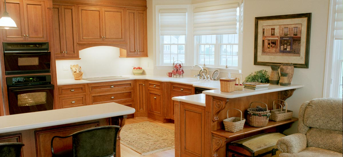 Custom Traditional Kitchen Cabinets by The Cabinet Shop in DE.